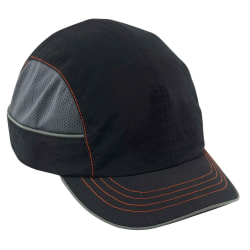 Ergodyne Skullerz Bump Cap, Short Brim, Black, 8950XL