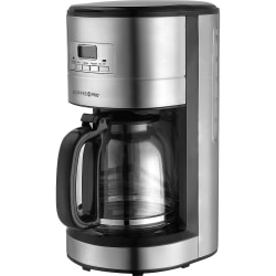 Coffee Pro 10-12 Cup Stainless Steel Brewer - Stainless Steel