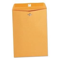 "Universal® Center-Seam Envelopes With Clasp Closure, 28 Lb, #75, 7 1/2"" x 10 1/2"", Brown Kraft, Box Of 100"
