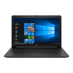 "HP 17-by0000 17-by0070nr 17.3"" Touchscreen Notebook - 1600 x 900 - Core i3 i3-7020U - 8 GB RAM - 1 TB HDD - 128 GB SSD - Windows 10 Home 64-bit - Intel HD Graphics 620 - BrightView - Bluetooth - 9.25 Hour Battery Run Time"