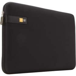 """Case Logic LAPS-117 Carrying Case (Sleeve) for 17.3"""" Notebook - Black - Impact Resistant Interior - EVA Foam - Textured - 13"""" Height x 17.5"""" Width x 2"""" Depth"""