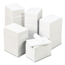 "Universal® Bulk Scratch Pads, 4"" x 6"", Unruled, 200 Pages (100 Sheets), White, Carton Of 120"