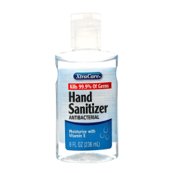 XtraCare Fragrance-Free Hand Sanitizer, 8 Oz