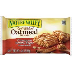 Nature Valley® Soft-Baked Cinnamon & Brown Sugar Oatmeal Bars, 1.87 Oz, Box Of 15