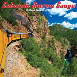 "Willow Creek Press Hobbies Monthly Wall Calendar, 12"" x 12"", FSC® Certified, Colorado Narrow Gauge Railroads, January to December 2021, 11386"
