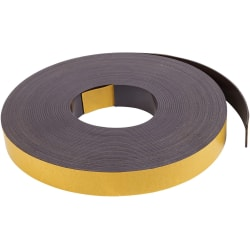 "MasterVision Magnetic Tape, 1"" x 50', Black"