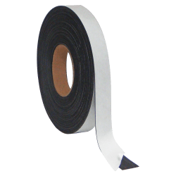 """MasterVision™ Magnetic Adhesive Tape, 1/2"""" x 50', Black"""