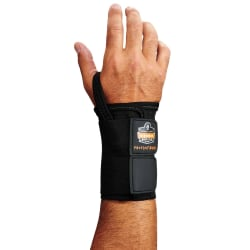 Ergodyne ProFlex® Support, 4010 Right Wrist, Medium, Black