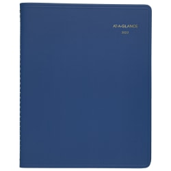 """AT-A-GLANCE® 15-Month Fashion Monthly Planner, 9"""" x 11"""", Red, January 2022 To March 2023, 7025013"""