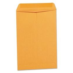 "Universal® Catalog Envelopes With Gummed Closure, Center Seam, 28 Lb, 6 1/2"" x 9 1/2"", Brown Kraft, Box Of 500"