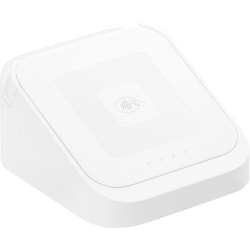 "Square Dock Station For Square Contactless And Chip Reader, 2 1/2""H x 4 1/2""W x 4 1/2""D, White, 8132358"