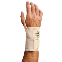 Ergodyne ProFlex® Support, 4010 Left Wrist, Large, Tan