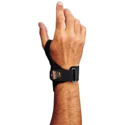 Ergodyne ProFlex® Support, 4020 Right Wrist, 2X, Black