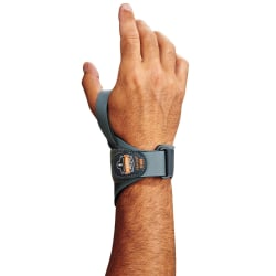 Ergodyne ProFlex® Support, 4020 Right Wrist, Medium, Gray