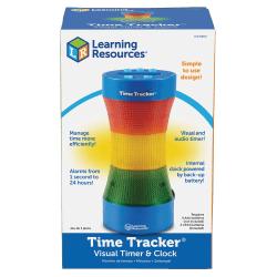 "Time Tracker® Visual Timer & Clock, 9""H, Multicolor"