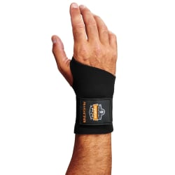 Ergodyne ProFlex® Support, 670 Wrist, Medium, Black