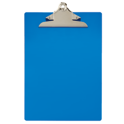 "Office Depot® Brand Aluminum Clipboard, 12"" x 9"", Blue"