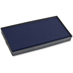 COSCO 2001 Plus Stamp No. 30 Replacement Ink Pad - 1 Each - Blue Ink
