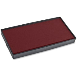 COSCO 2000 Plus Stamp No. 30 Replacmnt Ink Pad - 1 Each - Red Ink