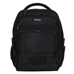 "Kenneth Cole Reaction Backpack For 17"" Laptops, Black"