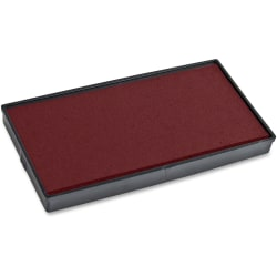 COSCO 2000 Plus Stamp L-60 Replacement Ink Pad - 1 Each - Red Ink