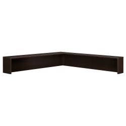 Bush Business Furniture Components Reception L Shelf, Mocha Cherry, Standard Delivery