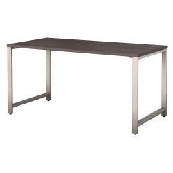 """Bush Business Furniture 400 Series Table Desk, 60""""W x 30""""D, Storm Gray, Standard Delivery"""