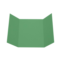 """LUX Gatefold Invitation Envelopes, A7, 5"""" x 7"""", Holiday Green, Pack Of 50"""