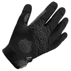 Ergodyne ProFlex 710 Abrasion-Resistant Tactical Gloves, XX-Large, Black