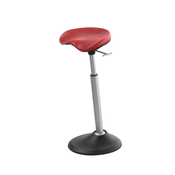 Safco® Active Mobis II Seat, Chili Pepper Red/Black/Gray