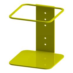 "Built Sanitizer Gallon Wall-Mount Stand, 7-1/2"" x 6-7/8"" x 7-1/4"", Yellow"