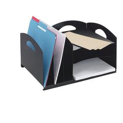 Office Depot® Brand Letter Size Combo Vertical/Horizontal Organizer, Black