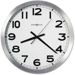 Howard Miller Round Wall Clock - Analog - Quartz
