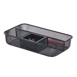 Brenton Studio® Black Mesh Small Drawer Organizer