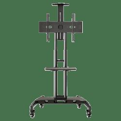 Lorell® Flat Panel TV Mobile Cart, Black