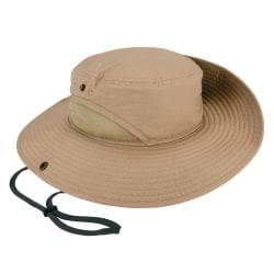 Ergodyne Chill-Its 8936 Lightweight Ranger Hat With Mesh Paneling, Small/Medium, Khaki
