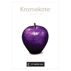 "Futura Gloss-Text Digital Printing Paper, Kromekote C1S Cover, Ledger Size (11"" x 17""), 96 (U.S.) Brightness, 100 Lb, 200 Sheets Per Ream, Case Of 4 Reams"