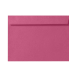 "LUX Booklet Envelopes With Moisture Closure, 6"" x 9"", Magenta Pink, Pack Of 50"