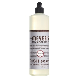 Mrs. Meyer's Clean Day Dish Soap, Lavender Scent, 16 Oz