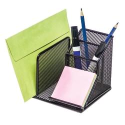 Brenton Studio® Black Mesh Desk Organizer