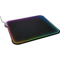 "SteelSeries QcK Prism - Dual-Textured - 0.3"" x 11.5"" x 14"" Dimension - Cloth, Rubber Base, Plastic - Anti-slip"