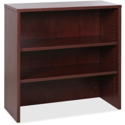 "Lorell® Essentials Series 36""H Stack-On Bookcase, Mahogany"