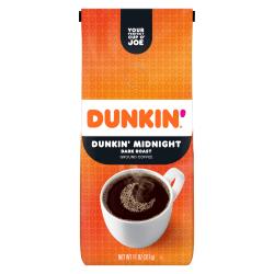 Dunkin' Donuts® Ground Coffee, Dunkin' Dark®, 11 Oz Bag