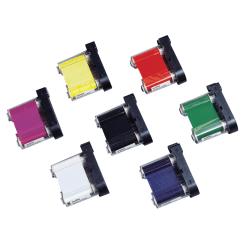 "HandiMark® Label Printer Ribbon, 2"" x 75', Red"