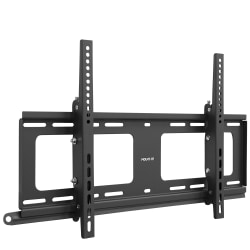 "Mount-It Weatherproof Outdoor TV Wall Mount For Screens 37 - 80"", 9-1/2""H x 31""W x 2-1/8""D, Black"