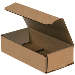 """Office Depot® Brand Corrugated Mailers, 8"""" x 4"""" x 2"""", Kraft, Pack Of 50"""