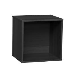 "IRIS BAKU 14""H Modular Cube Box, Black"