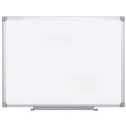 "MasterVision® Earth Gold Ultra Magnetic Dry-Erase Whiteboard, 36"" x 24"", 45% Recycled, Aluminum Frame With Silver Finish"