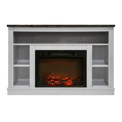 Cambridge Seville Fireplace Mantel with Electronic Fireplace Insert - Indoor - Freestanding
