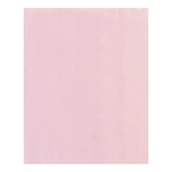 "Office Depot® Brand Antistatic Flat 4-mil Poly Bags, 3"" x 7"", Pink, Pack Of 1,000"